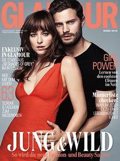 Fifty Shades of Grey Stars Dakota Johnson and Jamie Dornan on Glamour's Covers Worldwide