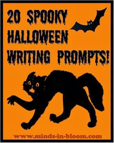 20 Halloween Writing