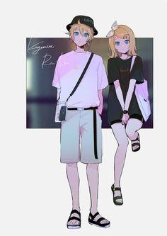 Len Y Rin, Vocaloid Len, Kagamine Rin And Len, Vocaloid Characters, Shadow The Hedgehog, Fujoshi, Chibi, My Arts, Anime