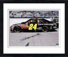 7cdbc9331 Signed Gordon Picture - Framed 8x10 - GA Certified - Autographed NASCAR  Photos by Sports Memorabilia