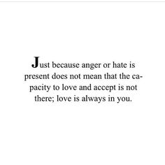 Love is always in you