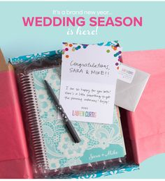 Recently #engaged? Check out the must-have guide for the bride to be! Plus get $10 off 1st purchase! #weddingplanner #wedding