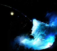 Magi The Labyrinth Of Magic Artist Anime Magi Anime Galaxy Landscape