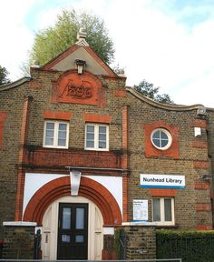 The Passmore Edwards Nunhead Public Library, mantained by the local council but built with a donation by John Passmore Edwards in 1896. Passmore Edwards campaigned for rate-supported libraries but also funded the creation of 24 libraries with his private fortune