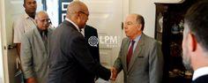 Presidente Desi Bouterse foi convidado oficialmente para abertura dos jogos olímpicos no Brasil
