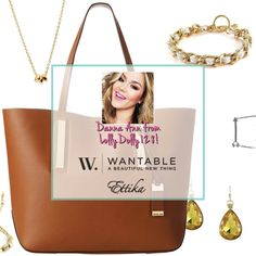 Enter to win a Michael Kors Tote filled with Danna's favorite accessories, and extras from iconic brand Ettika! Ends 7/23/14 at 12 CST.