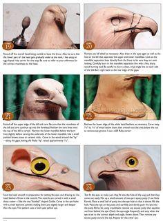 #912 Bald Eagle Carving - Wood Carving Patterns - Wood Carving