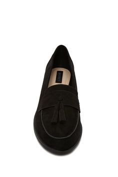 Faux Suede Tasseled Loafers   Forever 21 - 2000221370