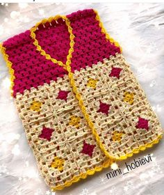 I will go from baby vests nowadays because there are many babies on the road yolda If you have babie Crochet Baby Sweaters, Crochet Baby Cardigan, Crochet Baby Clothes, Crochet Jacket, Crochet Slipper Pattern, Crochet Slippers, Baby Boy Knitting Patterns, Crochet Patterns, Dress Patterns