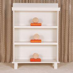 Manhattan Bookcase in White from PoshTots