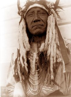"""american indians pictures - Bing Images   The photo is by Curtis, and was taken in 1908. Curtis captioned the image, """"Two Moons - Cheyenne"""""""