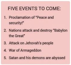 Bible prophecies show that shocking things will soon take place on earth. Consider what will happen and how you can endure Jw Bible, Bible Truth, Bible Scriptures, Bible Quotes, Faith Quotes, Psalm 133, Isaiah 48, Jehovah S Witnesses, Jehovah Witness