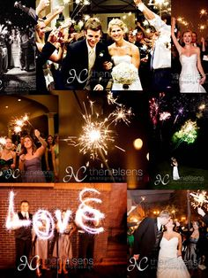 Fourth of July wedding,,Love all the fireworks.