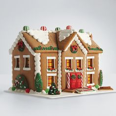 Gingerbread House This classic decorative delicacy looks almost too good to eat