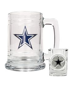 Dallas Cowboys Boilermaker Set by Great American Products #zulily #zulilyfinds