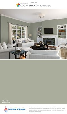 Wunderbar I Found This Color With ColorSnap® Visualizer For IPhone By  Sherwin Williams: Willow