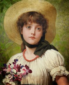 Fine Art and You: George Dunlop Leslie (1835-1921) - British Genre Painter