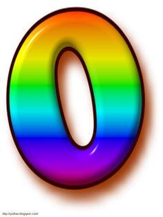Alfabeto arco iris.   Oh my Alfabetos!