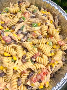 Pasta combined with vegetables and tossed with an Italian dressing. Perfect for a hot summer's day! Pasta combined with vegetables and tossed with an Italian dressing. Perfect for a hot summer's day! Easy Pasta Salad Recipe, Best Pasta Salad, Summer Pasta Salad, Pasta Recipes, Cooking Recipes, Summer Salads, Yummy Recipes, Vegetarian Salad Recipes, Salad Recipes For Dinner
