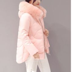 Buy now winter jacket women Large fur collar down wadded jacket female cotton-padded jackets thickening women winter coat just only $29.92 with free shipping worldwide  #womanjacketscoats Plese click on picture to see our special price for you