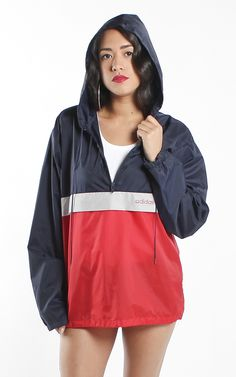 Vintage Adidas windbreaker jacket Vintage Sport, Vintage Adidas, Windbreaker Jacket, Rain Jacket, Childhood, My Style, Jackets, Clothes, Shopping