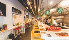 Mercatbar, restaurant of Quique Dacosta in Valencia. Tapas and dishes of the world reinterpreted with local produce. Valencia, Tapas, Restaurant, Dishes, Traditional, Table Decorations, Eat, Home Decor, Decoration Home