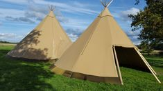Using our clever link kits, we can create unique spaces for your event, whether you're having a small, intimate party or a big, corporate do. Check out our website to see how we can accommodate your party needs. Tipi Hire, Tipi Wedding, Teepees, Party Needs, Outdoor Gear, Sweden, Clever, England, Spaces