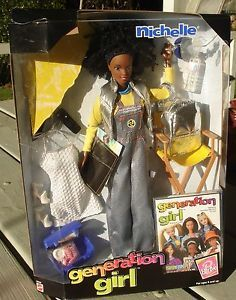 NRFP 1998 Michelle Generation Girl Barbie Doll
