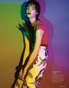 visual optimism; fashion editorials, shows, campaigns & more!: botanica brilliance: meghan collison by sofia sanchez & mauro mongiello for n...