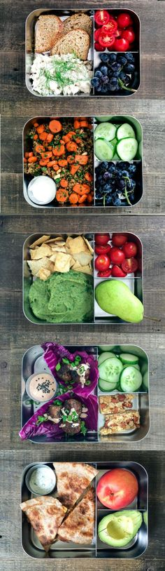 Figure out a lunch meal plan at the beginning of the week. | 7 Easy Tricks For Make-Ahead Meals: