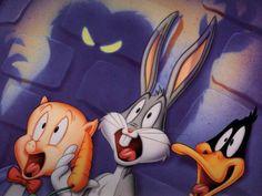 bugs bunny,horror | free Bugs Bunny Halloween desktop wallpaper featuring Warner Brothers ...