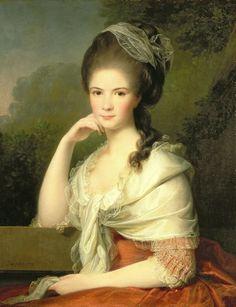 Portrait of a Lady - Jens Juel - 1778