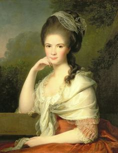 Portrait of a Lady - Jens Juel - 1778