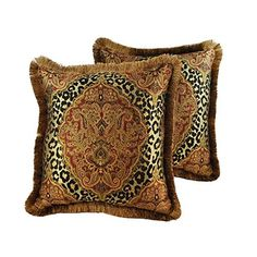 Sherry Kline Tangiers 20-inch Throw Pillows (2 Pieces) *** Find out more about the great product at the image link.