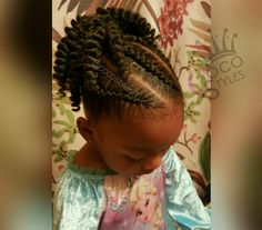 Little Black Girl Hairstyles For Natural Hair Best Picture For crochet hair styles ponytail For Your Taste You are looking for something, and it is going to tell you exactly what you are lo Easy Little Girl Hairstyles, Baby Girl Hairstyles, Natural Hairstyles For Kids, Quick Hairstyles, Black Girls Hairstyles, Braided Hairstyles, Children Hairstyles, Kids Natural Hair, Kids Crochet Hairstyles