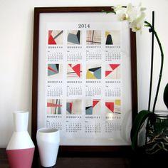 2014 Kalender - GEO von nuukk auf DaWanda.com