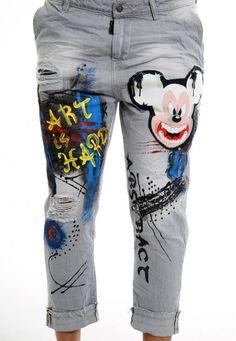 art is hard jeans