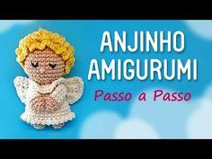 Anjinho Amigurumi - Passo a Passo by Glê Negri - YouTube