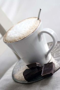 Coffee & Chocolate...doesn't get much better!