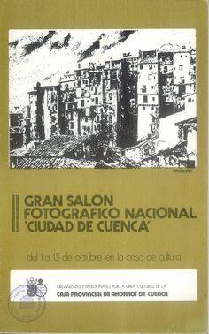 """II Gran Salón Fotográfico Nacional """"Ciudad de Cuenca"""" Exposición de las fotografías presentadas en la Casa de Cultura de Cuenca, del 1 al 15 de octubre 1975 #Cuenca #Fotografia #CasaCulturaCuenca"""