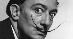 New painting! New painting! Inspirational Thoughts by Salvador Dali on Art: http: // Frank Zappa, Magnum Photos, Andy Warhol, Michelangelo, Thine Be The Glory, Dali Quotes, Famous Historical Figures, Drawing School, Stomach Problems