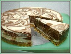 This is a Chilled Marble CheeseCake, its a simple yet a real nice dessert. Its a smooth cream cheese with the mix taste of dark chocolate ...