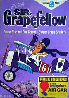 ♣grape flavored cereal? Would you buy!♣ツ