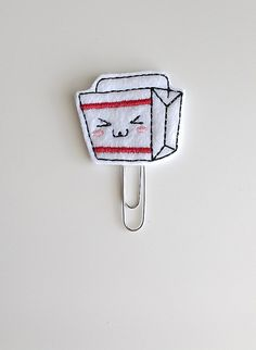 Take Out Container Felt Paperclip | Bookmark | Paper Clip | Planner Accessories | Feltie | Planner Clip | Kawaii | Chinese Food | Take Away