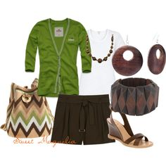 Moss Woods by pjm27 on Polyvore featuring мода, Hollister Co., Wilfred, Marc Jacobs, Buttero, Wayuu Taya, Forever 21, Sonoma life + style and Miso
