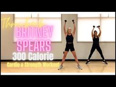 Quick Throwback Britney Workout | 2 in 1 | High or Low Impact - YouTube Strength Workout, 2 In, Cardio, Exercise, Youtube, Party, Ejercicio, Excercise, Parties