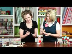 Liz Evans (Simple Simon & Co) shows how to make Peg People - YouTube video
