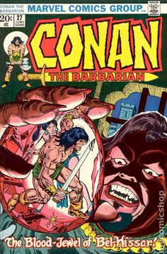 conan the barbarian comic book covers marvel | Conan the Barbarian (1970 Marvel) comic books