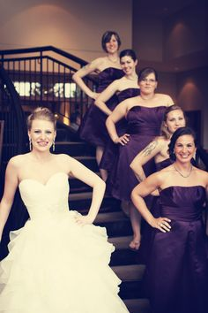 Bridesmaids! // Photo by Travis. #minneapolisweddingphotographer #weddingphotography