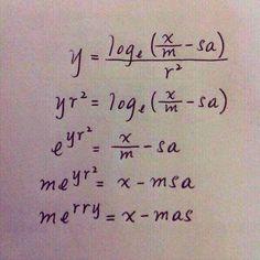 Χριστουγεννιάτικα μαθηματικά